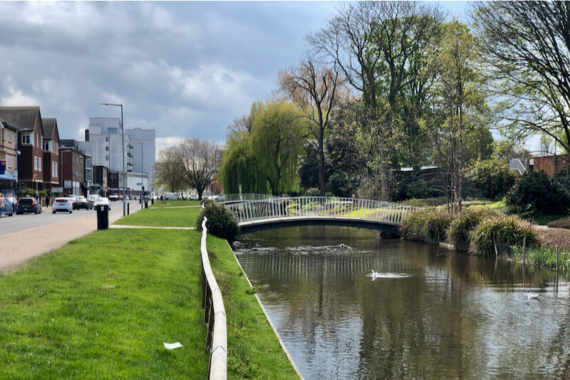 Water Gardens, Hemel Hempstead